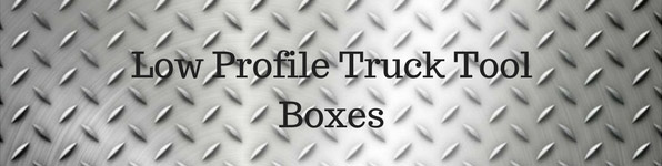 Low-Profile Crossover Truck Tool Boxes